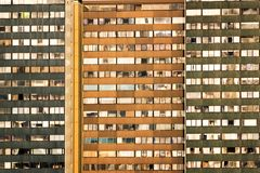 Apartment Buildings View Stock Image