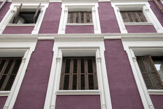 Apartment close up. Close up of a luxury apartment building royalty free stock image
