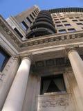 Apartment column high rise Stock Photography