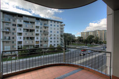 Apartment complex Royalty Free Stock Images