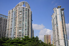 Apartment Complex Guangzhou China Royalty Free Stock Image