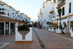 Apartment complex, Puerto Banus. Stock Photo