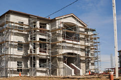 Apartment Complex Under Construction Royalty Free Stock Image