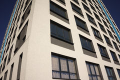 Apartment Complex with Windows Royalty Free Stock Photography