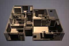 apartment concept Royalty Free Stock Images