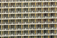 Apartment Condo Building Detail Stock Image