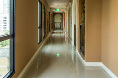 Apartment Corridor Royalty Free Stock Photography