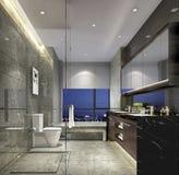 Apartment& di prima scelta x27 di Shanghai; stile conciso di s della toilette domestica Immagini Stock Libere da Diritti