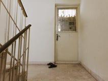 Apartment entrance Stock Photo