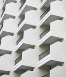 Apartment facade Stock Photos