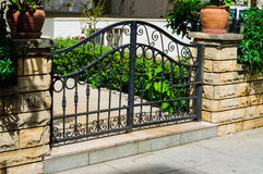 Apartment Gate Stock Image