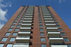 Apartment high rise Royalty Free Stock Photos