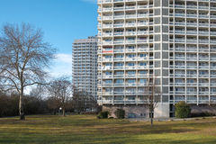 Apartment high-rise Royalty Free Stock Photo