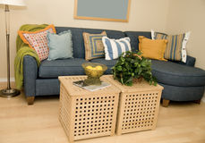 Apartment home living room Stock Image