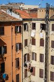 Apartment homes in Rome, Italy Stock Images