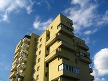 Apartment house. City life, urban scene, Warszawa, Poland Royalty Free Stock Images