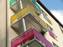 Apartment house. Modern apartment house Stock Photo
