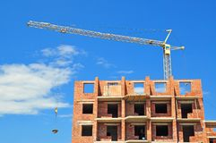 Apartment house building Stock Photography