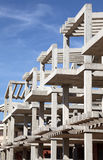 Apartment house construction Royalty Free Stock Photo