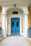 Apartment house entrance door Stock Images