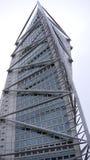 Neo-futuristic skyscraper. Royalty Free Stock Photography