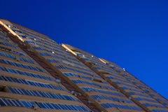 Apartment house facade Royalty Free Stock Photos