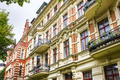 Apartment house Royalty Free Stock Images