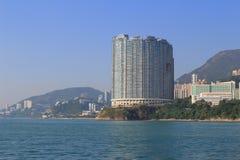 Apartment house in Hong Kong. The apartment house in Aberdeen Hong Kong stock photos