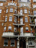 Apartment house in London Royalty Free Stock Images