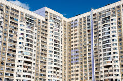 Apartment house in Moscow, Russia Royalty Free Stock Image