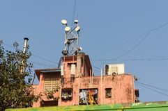 Apartment house in Mumbai Stock Image