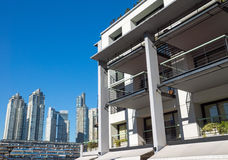 Apartment house in Puerto Madero Stock Photos