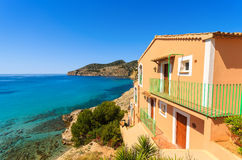 Free Apartment House View Bay Beach Mountains Royalty Free Stock Images - 31457109