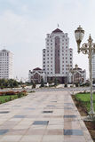 Apartment house3. One of the dwelling house. Ashkhabad. Turkmenistan Royalty Free Stock Images