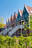 Apartment houses in the Netherlands Royalty Free Stock Images