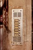 Apartment Intercom Royalty Free Stock Photo