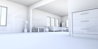 Apartment Interior Royalty Free Stock Images