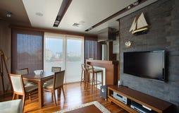 Apartment Interior Stock Photography
