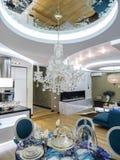 Apartment interior. Apartmen living room interior design and decoration Stock Photography