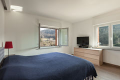 Apartment interior, bedroom Royalty Free Stock Photography