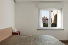 Apartment interior, bedroom Royalty Free Stock Photo