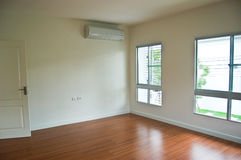 Apartment, interior, big empty room royalty free stock photos