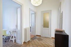 Apartment interior with hallway Stock Photo