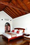 Apartment interior in the luxury villa stock images