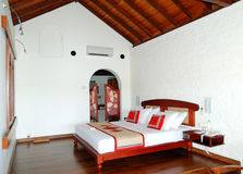 Apartment interior in the luxury villa. Bentota, Sri Lanka stock photos