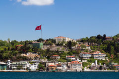 Apartment in Istanbul Bosporus seafront Stock Photos