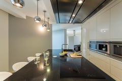 apartment kitchen modern Στοκ Εικόνες