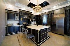 apartment kitchen modern Στοκ φωτογραφίες με δικαίωμα ελεύθερης χρήσης