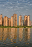 Apartment by the lake Royalty Free Stock Photo