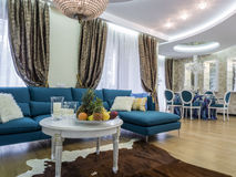 Apartment living room. Apartmentliving room, interior design and decoration Stock Photography